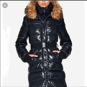 S13 NYC Black Puffer Coat Bloomingdales